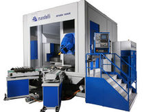 5-axis CNC universal machining center for large parts max. 3 500 x 2 500 x 2 800 mm | SPARK series MANDELLI