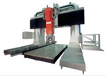 5-axis mobile gantry CNC vertical machining center SK50 - DIN 69871 (HSK 100 A) | matec-50 P  matec Maschinenbau