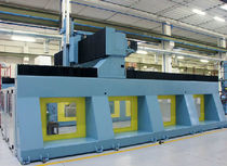 5-axis mobile gantry CNC vertical machining center max. 6 500 Χ xxxx Χ 4 500 mm | A series Multiax International Spa