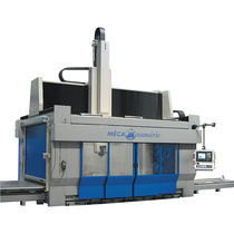 5-axis swiveling spindle CNC machining center max. 3750 x 2250 x 1400 mm | NORMAPROFIL - M series MECANUMERIC