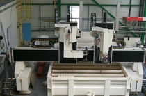 5-axis water-jet cutting machine max. 4000 x 4000 x 2000 mm | CRENO JET EAU 5A Le Creneau Industriel