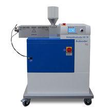 Single-screw measuring extruder / laboratory / analysis