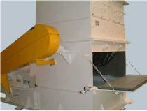 Single-shaft shredder / plastic / rugged