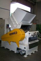 Knife plastic granulator / heavy-duty / for the plastics industry