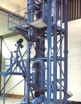 Air separator / particle / granulates / for bulk materials