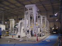 Aspiration pneumatic conveying system / continuous / centralized / for powders