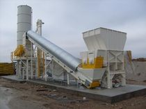 Double-shaft shredder / solid & bulk waste / wood / rugged