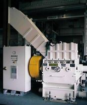 Knife mill / horizontal / for cables / coarse powder