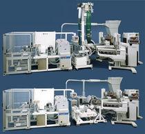 Blown film extrusion line / flat-film / film / laboratory