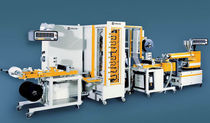 Monoaxial MDO stretching machine for films (machine direction orientation)