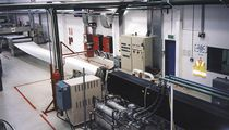 Flat-film extrusion line / for PP / for PE / for PS