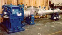 Water ring pelletizer / underwater / for plastic pellet manufacturing