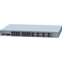 Managed ethernet switch / 28 ports / layer 3 / modular