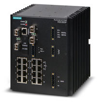 Managed ethernet switch / 16 ports / gigabit / layer 2