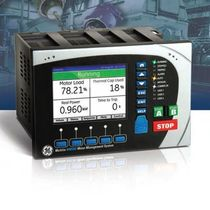 Voltage protection relay / panel-mount / programmable / digital