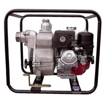 Water pump / with combustion engine / vortex / self-priming