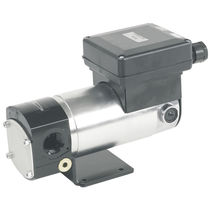 Oil pump / with DC motor / gear / for viscous fluids