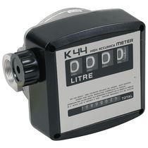 Positive displacement counter / analog / mechanical / diesel fuel