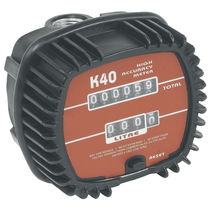 Positive displacement counter / analog / mechanical / oval gear