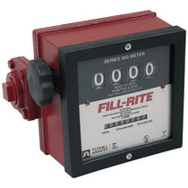 Positive displacement counter / analog / mechanical / for gasoline
