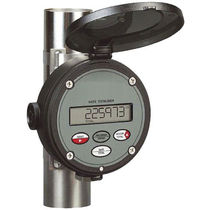 Solvent meter / flowmeter / positive displacement / digital / electromechanical
