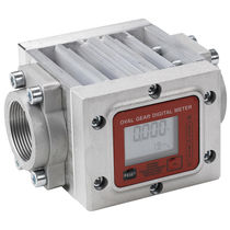 Positive displacement counter / digital / electromechanical / electronic