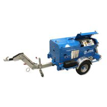 Cable capstan winch / diesel engine / compact