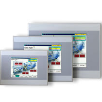 Panel-mount PLC / with integrated I/O / RS232 / Ethernet