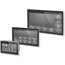 Panel PC with touch screen / widescreen / 1280 x 1024 / dual-core