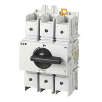 Rotary disconnect switch / low-voltage / DIN rail / compact