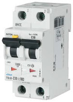 Differential circuit breaker / residual current / 2-pole / miniature