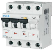 Differential circuit breaker / residual current / 3-pole / miniature