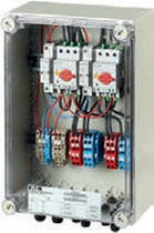 Equipped electrical enclosure / modular / for photovoltaic applications / safety
