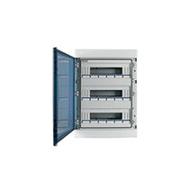 Wall-mounted electrical enclosure / polycarbonate / distribution