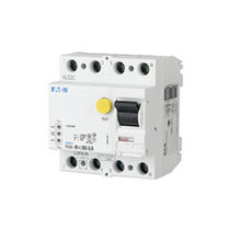 Residual current residual current circuit breaker / digital / molded case / DIN rail