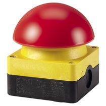 Mushroom push-button switch / single-pole / illuminated / electromechanical