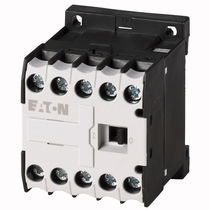Power contactor / electromagnetic / DIN rail