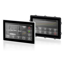 HMI with touch screen / panel-mount / 1024 x 600 / ARM Cortex