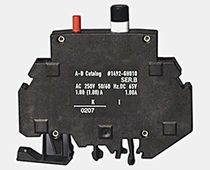 Thermal-magnetic circuit breaker / single-pole / overcurrent / high-density