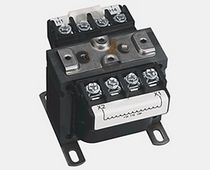 Electrical power supply transformer / encapsulated / control / single-phase