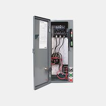 Lighting contactor / electromagnetic / 3-pole / with disconnect switch