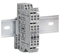 DIN rail signal conditioner / high-density