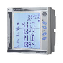 Power monitoring system / for panels / digital / wireless