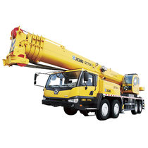 Mobile crane / telescopic / for construction / for railway applications