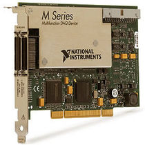 PCI data acquisition card / analog