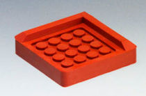 Vibration damping plate