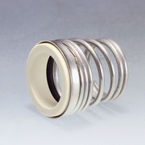 Spring mechanical seal / NBR / ceramic / conical