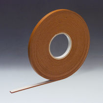 Double-sided adhesive tape / rubber / industrial / film