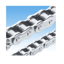 Power transmission chain / roller / nickel-plated / corrosion-resistant