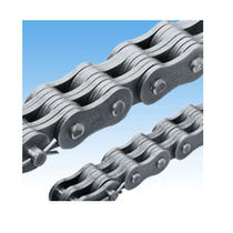 Power transmission chain / metal / riveted / leaf